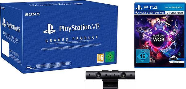 [Quelle] PS4 VR Brille+ VR Worlds  [Generalüberholt]