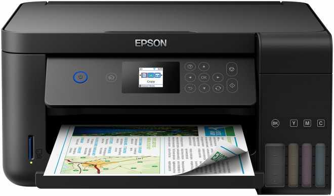 [Expert] Epson EcoTank ET-2750 nachfüllbares 3-in-1 Tintenstrahl Multifunktionsgerät (Kopierer, Scanner, Drucker, DIN A4, Duplex, USB 2.0)