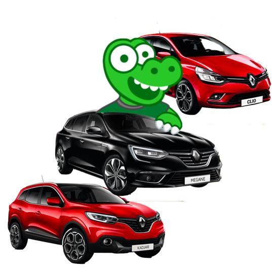 [Übersicht] Renault Clio (75 PS) mtl. 49€ (netto), Renault Megane Kombi Automatik (140 PS) mtl. 99€ (netto) & Renault Kadjar Automatik (140 PS) mtl. 99€ (netto) - alle 12 Monate, keine Bereitstellungskosten [Gewerbeleasing]