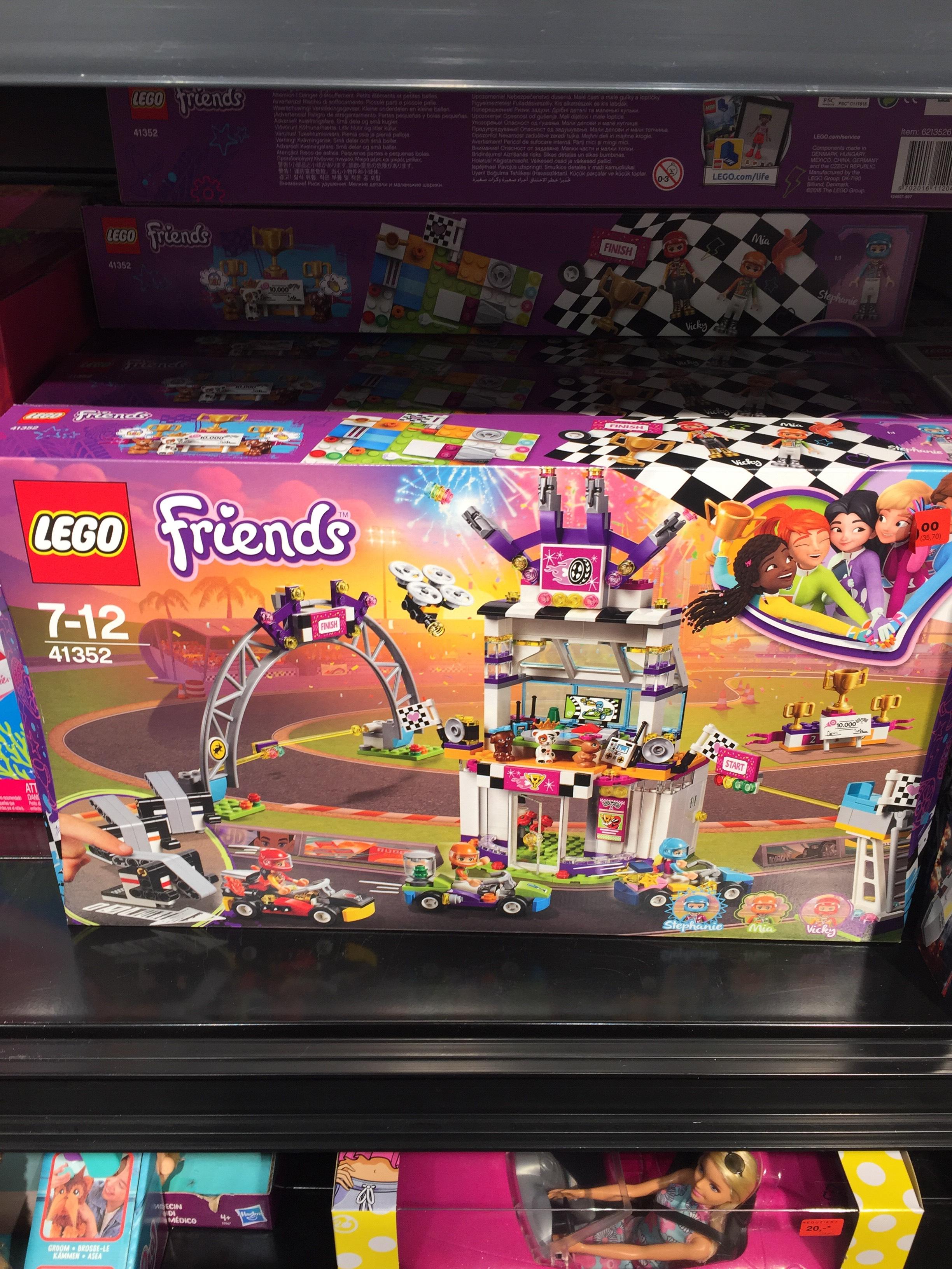 Metro Leipzig ggf. andere - Lego Friends 41352 Das große Rennen für 23,80€
