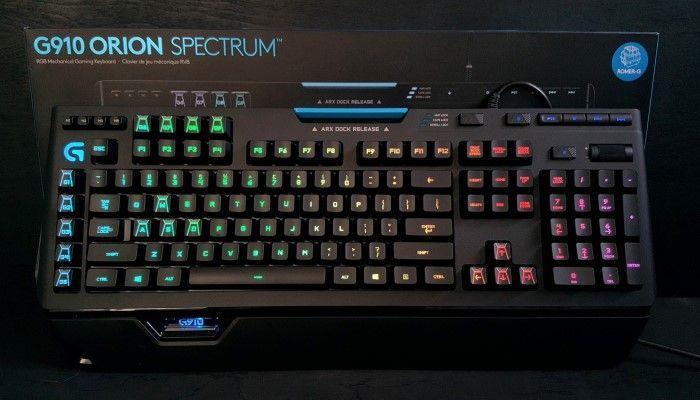 Logitech G910 Orion Spectrum Gaming Tastatur