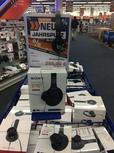 [Lokal Saturn Köln Hansaring] Sony WH-1000 XM3 Bluetooth Over-Ear Kopfhörer