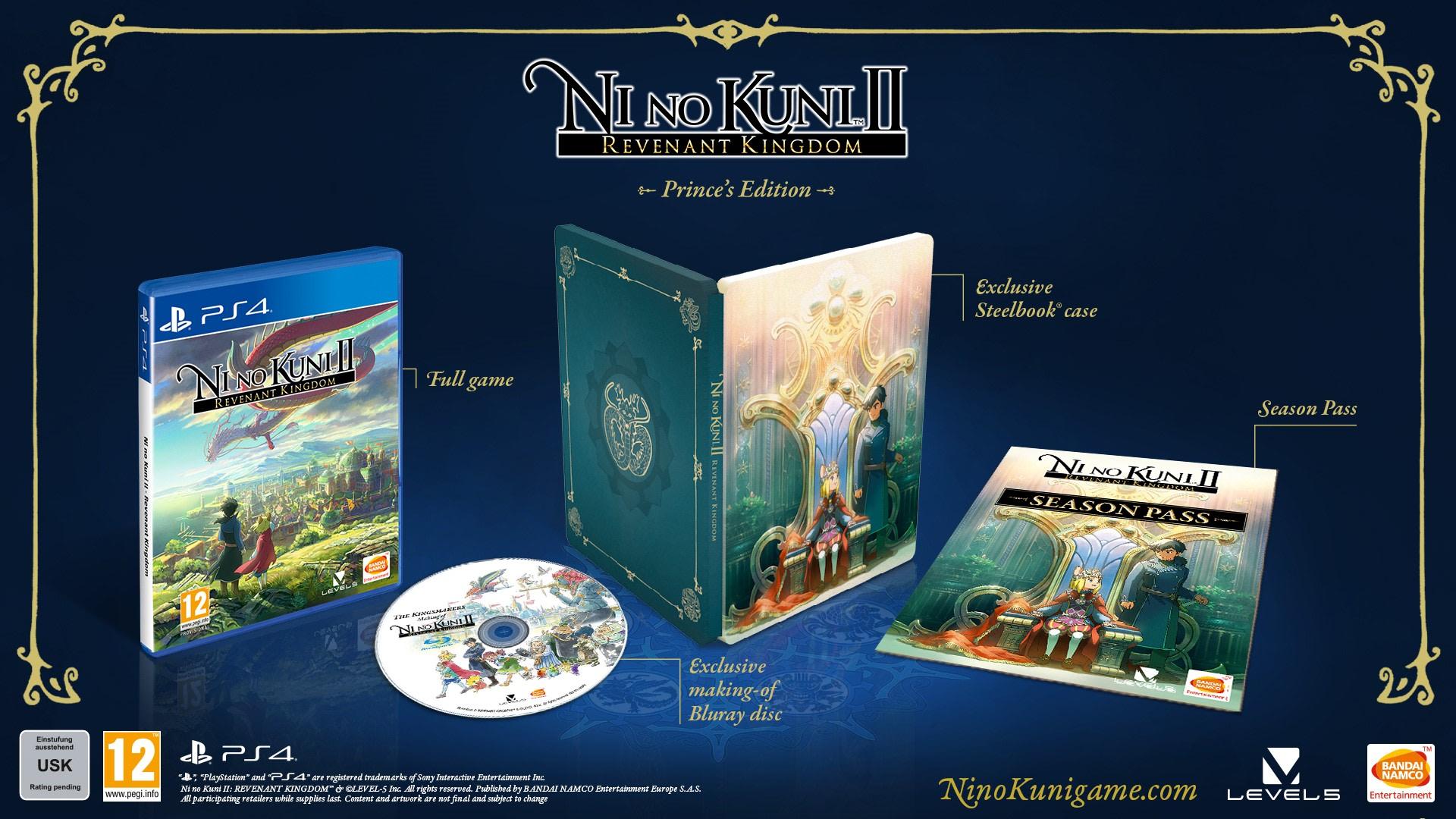 Ni No Kuni 2: Schicksal eines Königreichs - Prince's Edition (PS4) für 29,45€ (Game UK & Amazon UK)