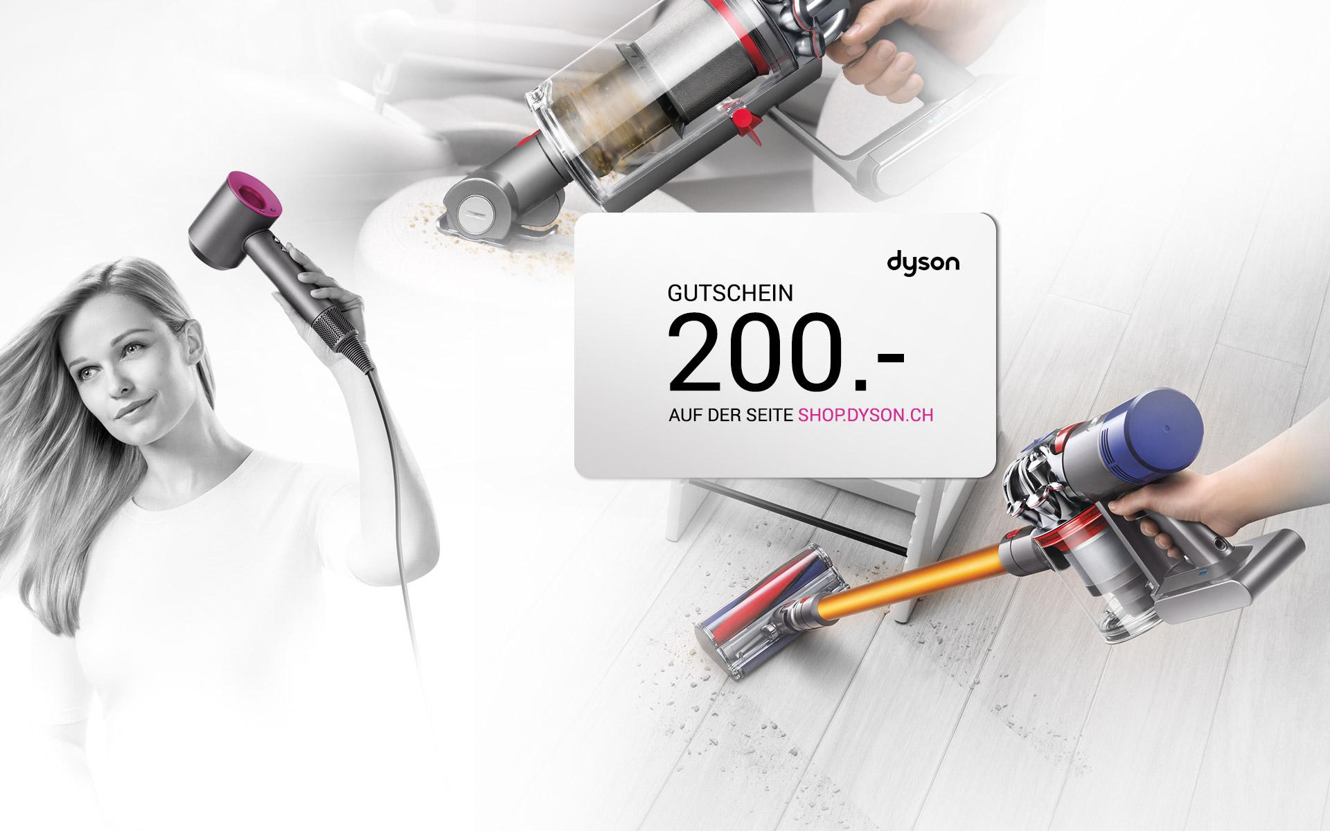 DYSON Gutschein im Wert von 178.00 EUR - (CH-DEAL) auf Dyson Website
