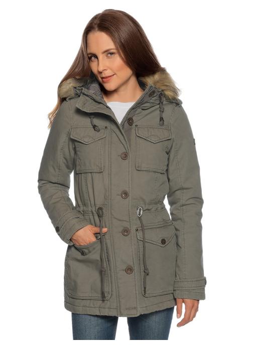 Großer Sale + versandkostenfrei bestellen, z.B. DreiMaster Parka mit Fake Fur
