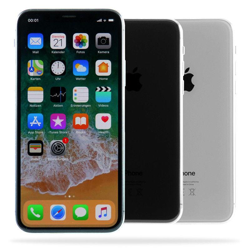 Apple iPhone X / 64GB / Spacegrau Silber /  Wie Neu