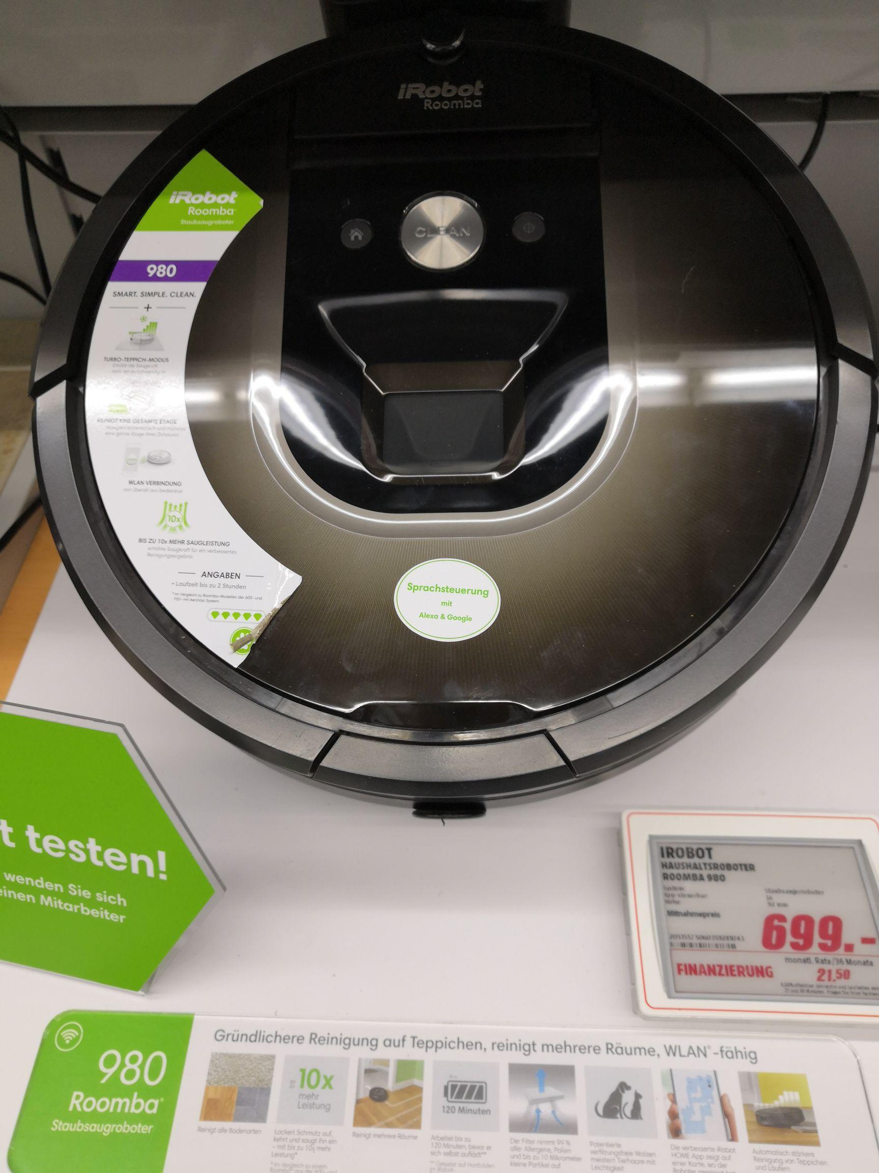 [Lokal PB] iRobot Roomba 980