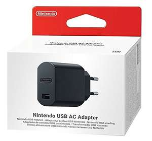 NINTENDO Classic Mini: USB AC Adapter, Netzteil, Schwarz