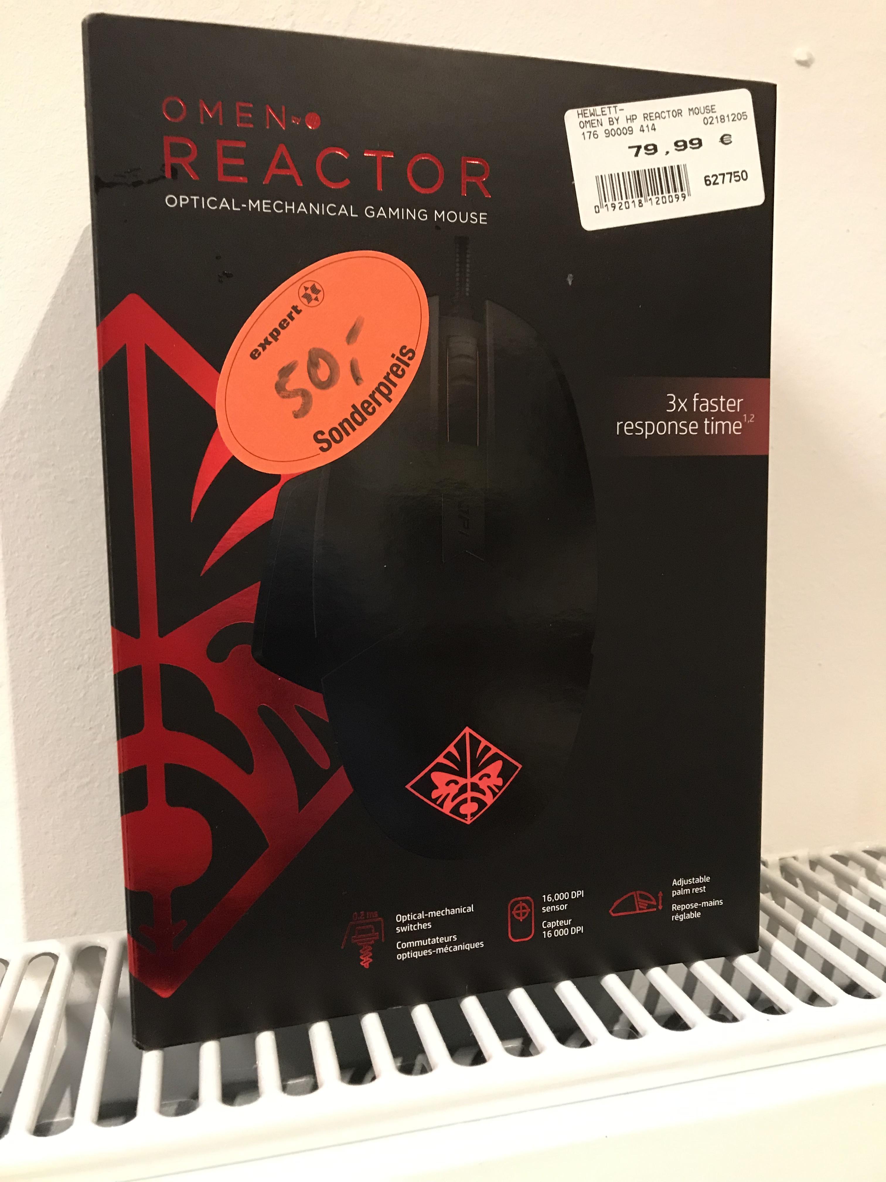 HP Omen Reactor Gaming Maus (Expert Ibbenbüren) Lokal?