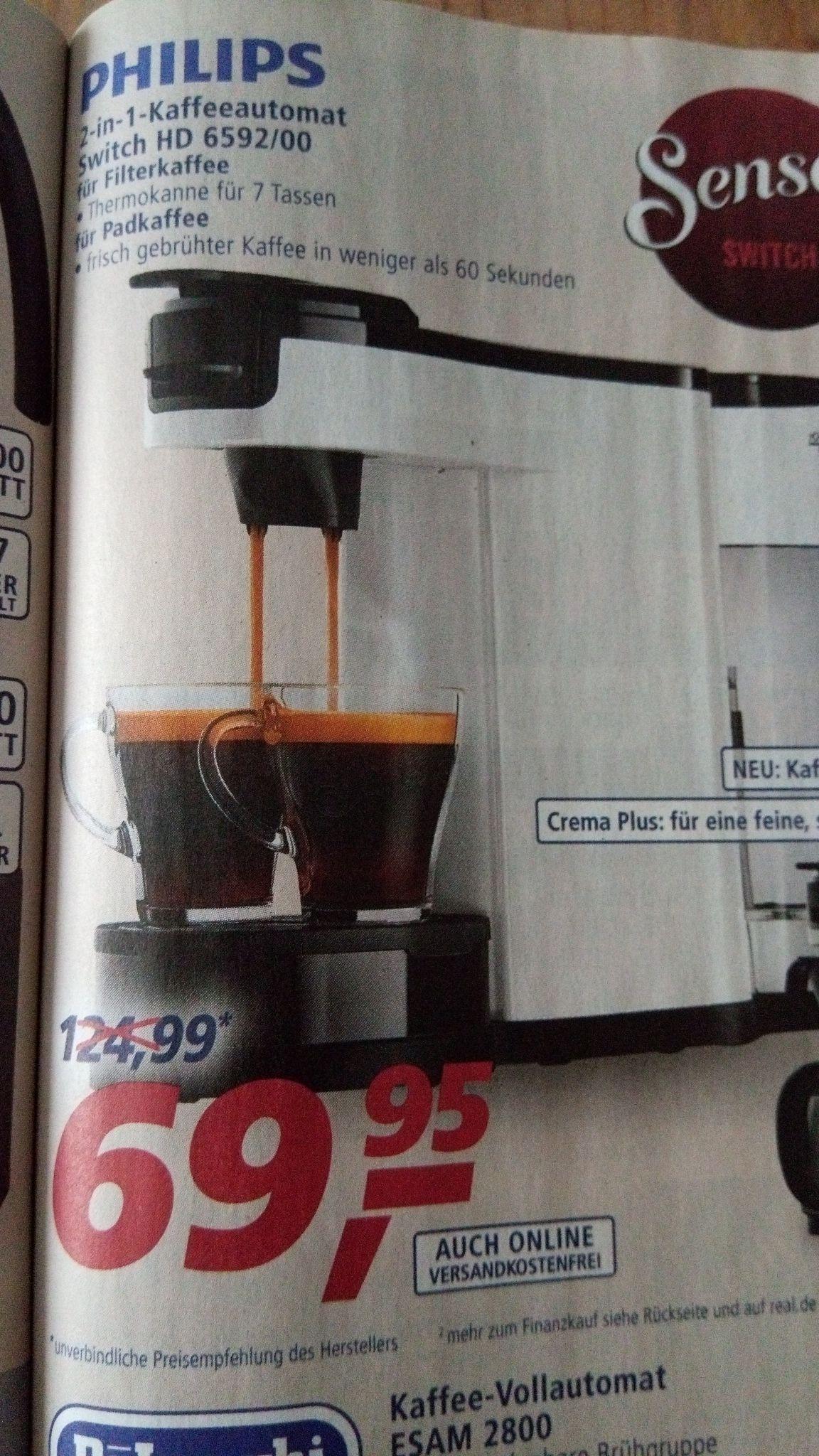 Real Senseo Switch HD 6592/00
