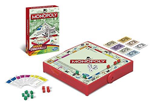 [Amazon] Hasbro Monopoly B1002100 - Monopoly Kompakt Reisespiel