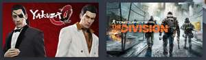 Yakuza 0 (Steam) + Tom Clancy's The Division (Uplay) + Rapture Rejects (Steam) für 10,52€ im Humble Monthly