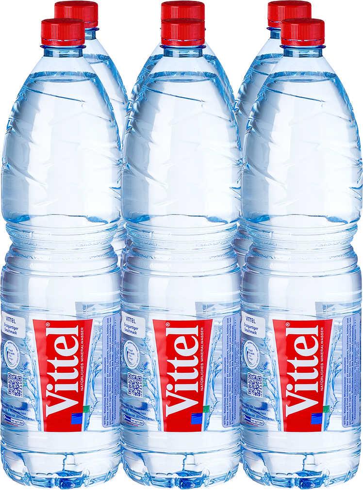 [Kaufland] nur am 05.01. gibt es wieder Vittel Wasser 6x je 1,5L Flaschen für nur 2,22 € (1 l = 0.25€ )