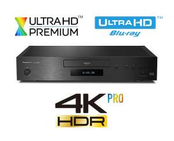 Panasonic DP-UB9004EGK 4K Premium ULTRA HD HDR10+ Blu-ray & CD Player