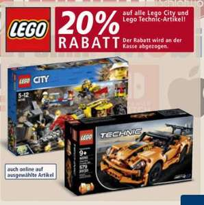[REAL] 20% auf Lego Technic oder Lego City (Off+On) + evtl. F&F + SpielwarenCoupon