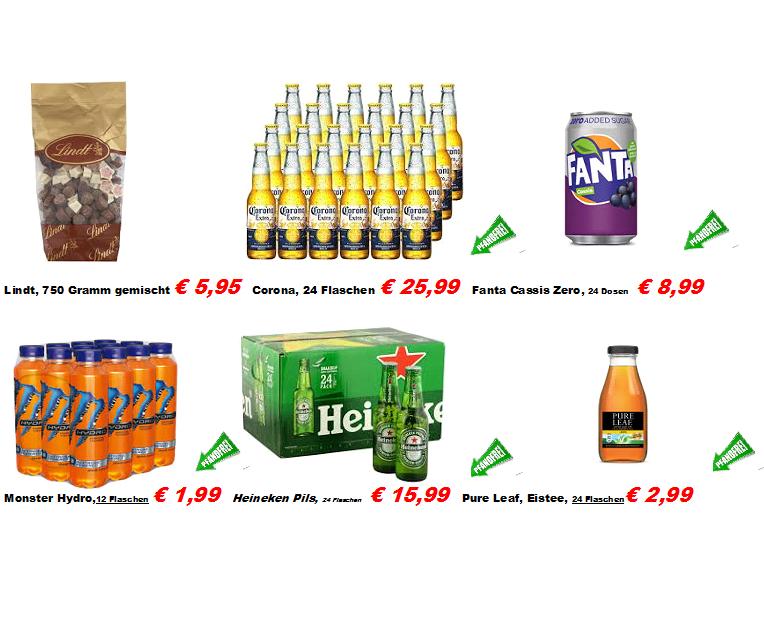 [Denekamp / NL - Supermarkt Berning] Monster Hydro - 12 Flaschen - pfandfrei - 16 Cent pro Flasche