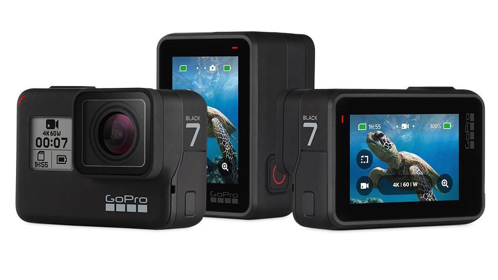 GoPro HERO7 Black 4K Aktion Kamera mit Wiederaufladbare Batterie AABAT-001-AS