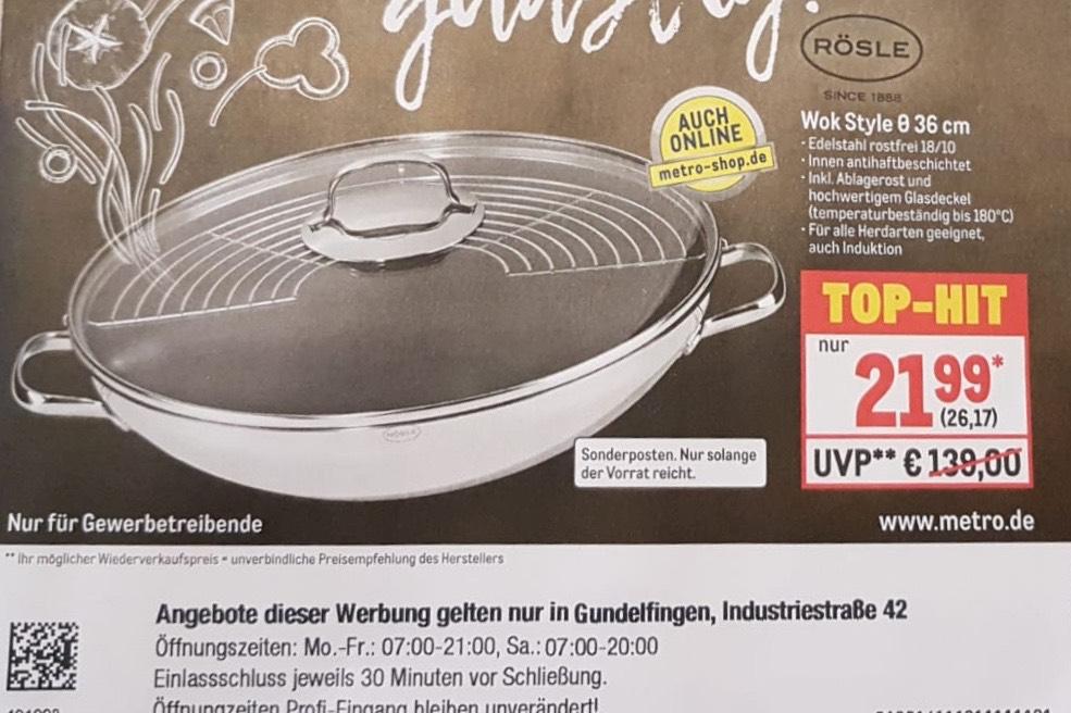 Rösle Gasgrill Angebot : Rösle produkte günstig kaufen ⇒ beste angebote & preise mydealz.de