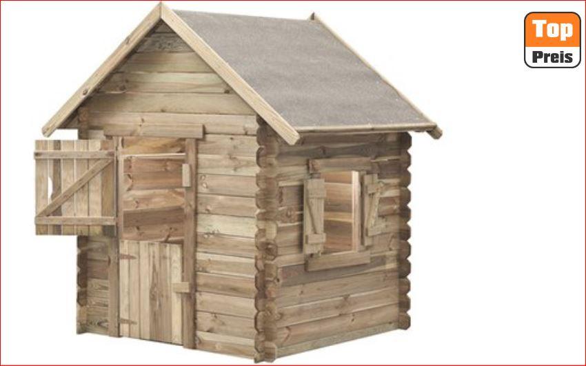 SwingKing Spielhaus Louise 160 cm x 120 cm x 120 cm für 139,99 Euro