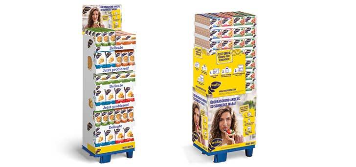 Wasa Produkt kaufen und Wasa Knusperpost erhalten (Produktprobe + 50 Cent Coupon für den nächsten Wasa-Kauf)
