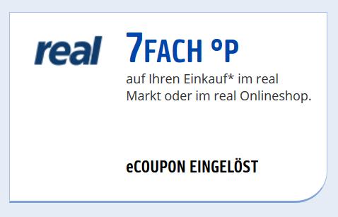 [real.de] 7-Fach Payback Punkte auf alles in Online Shop bis Ende Feb. 2019