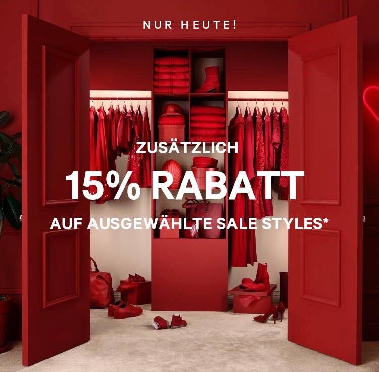H&M zusätzlich 15% Rabatt auf Sale Artikel und Gratis Versand