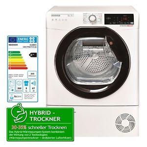 Hoover Wäschetrockner Dynamic Next Wärmepumpentrockner 9kg A++