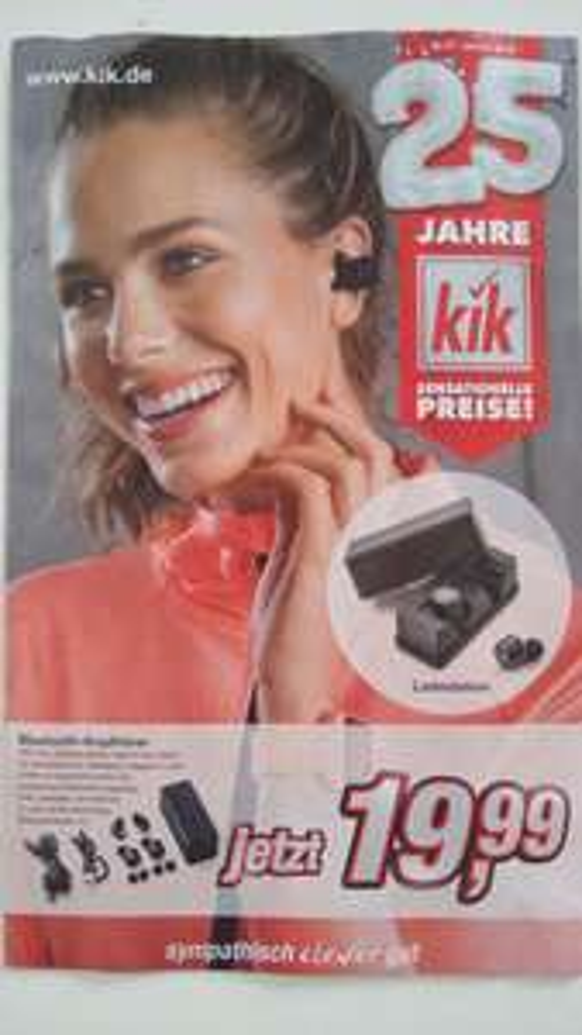 Bluetooth Kopfhörer bei kik