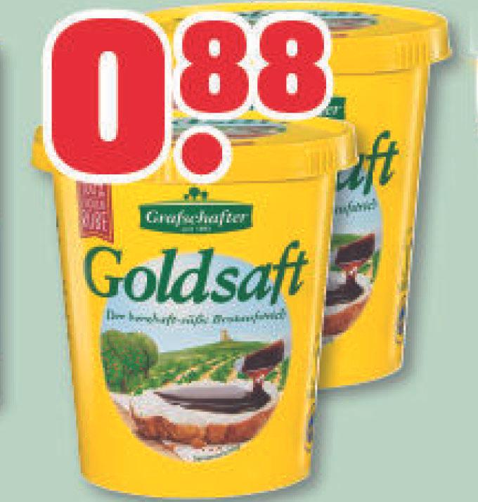 Grafschafter Goldsaft Zuckerrübensirup für nur 88 Cent [ trinkgut ]