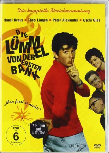Die Lümmel von der ersten Bank - Die komplette Streichesammlung (7 Filme auf 4 DVDs) ab 12,97 Euro @Amazon