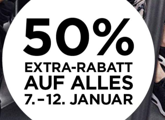 50% auf alles bei Nike im Designer Outlet Soltau (lokal)