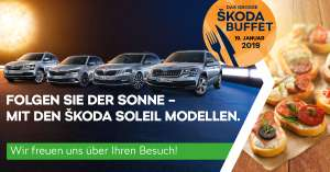 Gratis ŠKODA Buffet am 19.01.2019