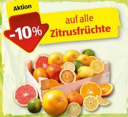 [Aldi Süd] ab 14.01. Rabatt -10% auf alle Zitrusfrüchte
