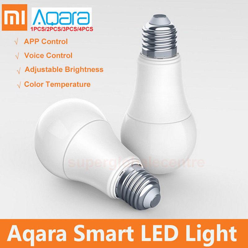 Xiaomi Aqara ZNLDP12LM LED Smart Bulb 9 Watt Farbtemperatur einstellbar  App Steuerung Google Home zigbee