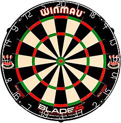 WINMAU Blade 5 Dual Core Dartboard Dartscheibe Darts