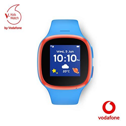 V-Kids Watch von Vodafone blau oder rosa Smartwatch mit GPS-Tracker und SOS-Alarmknopf