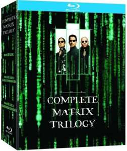 (UK) The Matrix Trilogy (3 x Blu-Ray) für 9,99€ @ Zavvi