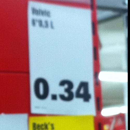 6er Pack 0,5L Volvic Wasser für 0,34€ im Penny Karlsruhe