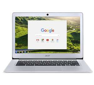 [Acer Store] Acer Chromebook 14 CB3-431-C6H3 Intel Quad-Core N3160 4GB 32GB eMMC Full-HD IPS Google Chrome OS im Alu-Gehäuse + 4% shoop