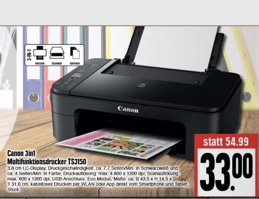 Multifunktionsdrucker Canon PIXMA TS3150 [edeka]
