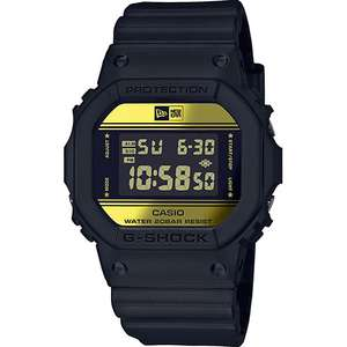 CASIO G-SHOCK X NEW ERA DW-5600NE-1ER Herren-Armbanduhr (Limitierte Sonderedition)