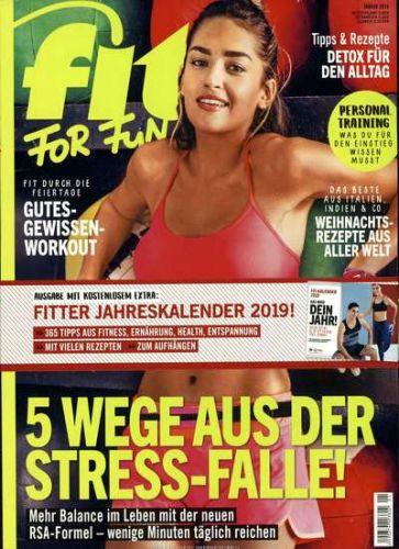 Fit for Fun Abo - 6 Ausgaben für 21,60 € mit 20,00 € Amazon-Gutschein