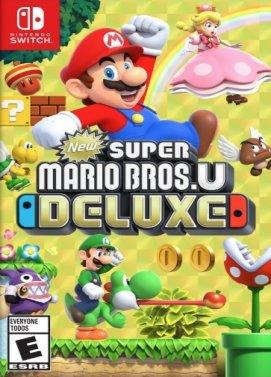 New Super Mario Bros. U Deluxe Switch EU Downloadcode