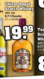 Chivas Regal Scotch Whisky - 12 Jahre - 0,7l - 40% - 19,99 € @Trinkgut