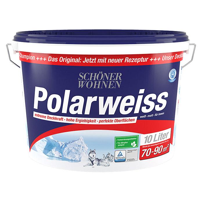 Polarweiss 10l Wandfarbe