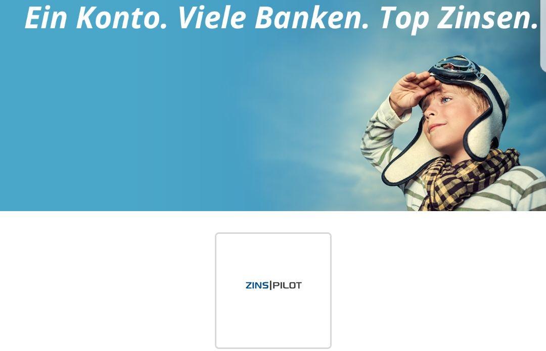 ZINSPILOT über Shoop: 45€ Cashback für Kontoeröffnung mit Anlage (Tages- / Festgeld) über 3000€ + KWK 100€ (50€ Werber / 50€ Geworbener)