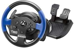 Thrustmaster T150 RS (Lenkrad inkl. 2-Pedalset, Force Feedback, 270° - 1080°, PS4 / PS3 / PC) [Amazon]