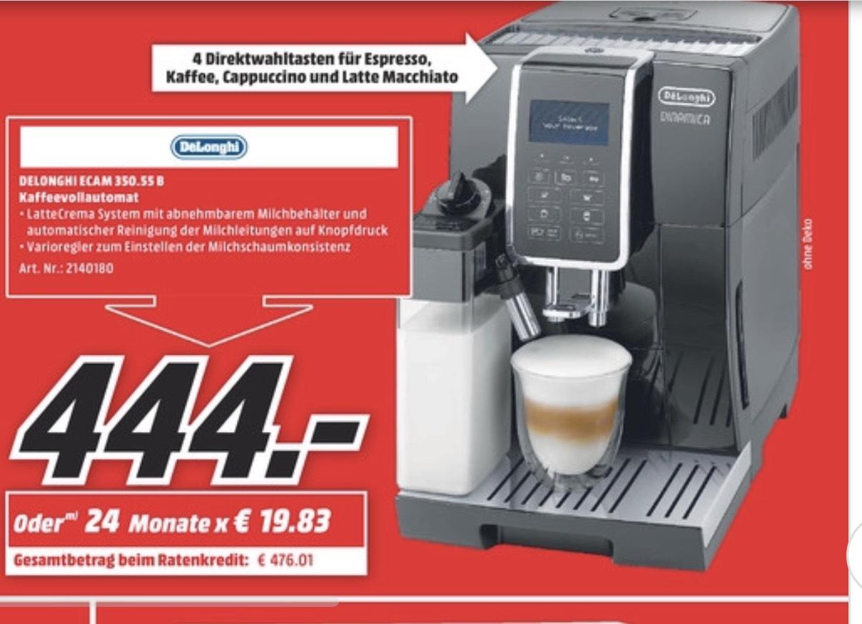 LOKAL HAMBURG Media Markt Delonghi Ecam 350.55.B Dinamica Schwarz Kaffeevollautomat