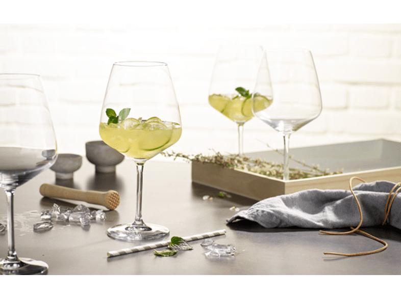 Villeroy & Boch VIVO Voice Basic Trinkglas Rotweinglas Sektgläser (4 Stück)