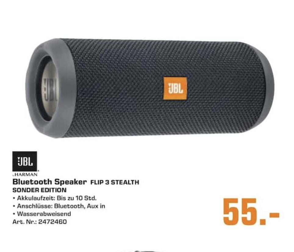 [Saturn Hamm] JBL Flip 3 Stealth - Bluetooth Lautsprecher